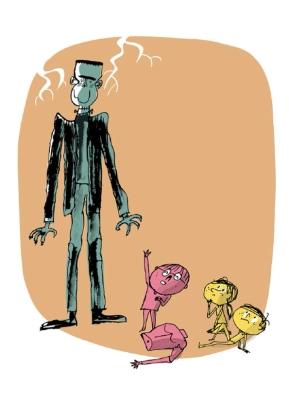 Operación Frankenstein en Literatura InfantilRespetuosa
