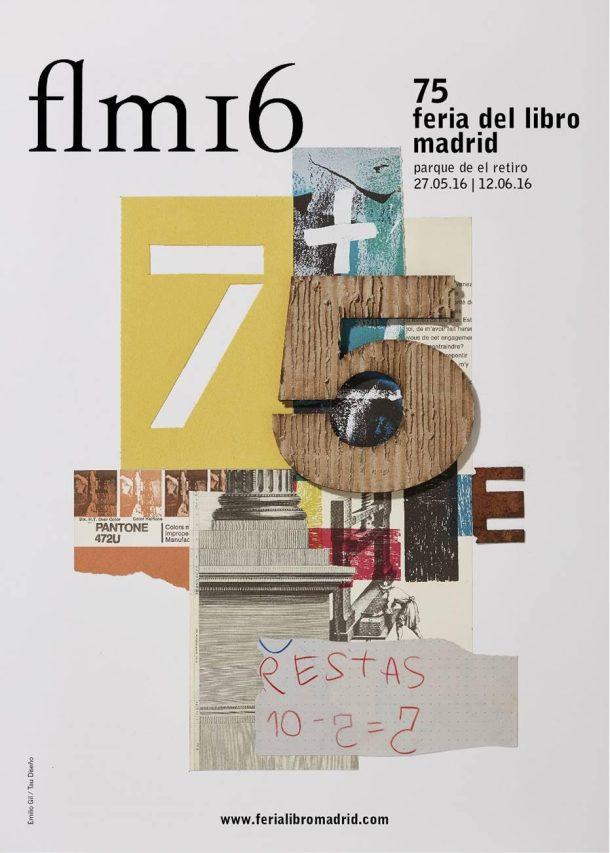 Cartel Feria del Libro de Madrid 2016