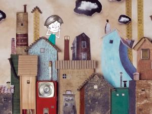 Me gustan los globos, álbum ilustrado, Pablo Caracol, Narval editores.