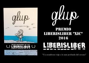 Glup, cómic de Daniel Piqueras Fisk, premio Liberisliber Xic 2016 (literatura infantil y juvenil).
